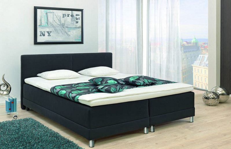 boxspringbetten machen aus jedem schlafzimmer ein paradies neues aus der. Black Bedroom Furniture Sets. Home Design Ideas